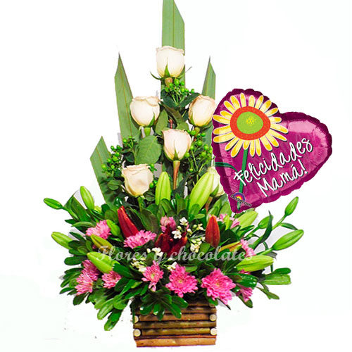 Flores dia de la madre a domicilio