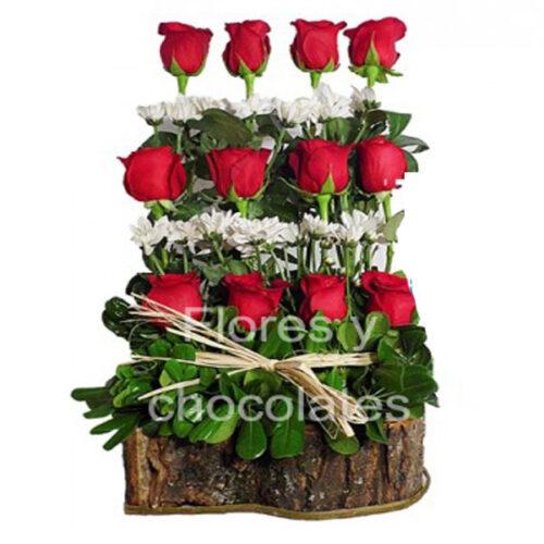 Arreglo de rosas a domicilio